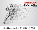 american football made up of...   Shutterstock .eps vector #1193718718