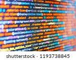 website design. big data and... | Shutterstock . vector #1193738845