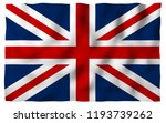 waving flag of the great... | Shutterstock . vector #1193739262