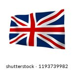 waving flag of the great... | Shutterstock . vector #1193739982