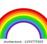 rainbow icon flat spectrum....
