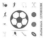 soccer ball icon. sport icons... | Shutterstock .eps vector #1193803288