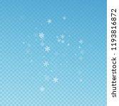 sparse snowfall christmas... | Shutterstock .eps vector #1193816872
