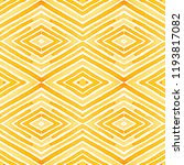 orange geometric watercolor.... | Shutterstock . vector #1193817082
