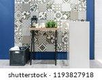 interior of bathroom with sink... | Shutterstock . vector #1193827918