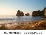 sandy ocean beach praia dona... | Shutterstock . vector #1193834338