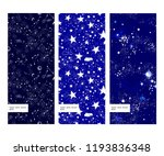 space galaxy constellation... | Shutterstock .eps vector #1193836348