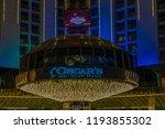 las vegas  nevada  united... | Shutterstock . vector #1193855302