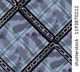 seamless pattern tartan design. ... | Shutterstock . vector #1193870212