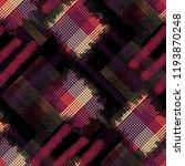 seamless pattern tartan design. ... | Shutterstock . vector #1193870248
