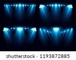 bright stadium arena set... | Shutterstock .eps vector #1193872885