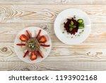 exquisite serving buckwheat...   Shutterstock . vector #1193902168
