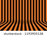 stripe room in black and orange ... | Shutterstock .eps vector #1193905138