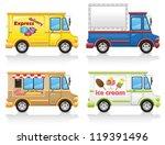 car icon set illustration... | Shutterstock . vector #119391496