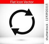 arrow icon   stock vector...   Shutterstock .eps vector #1193920315