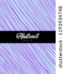 abstract colorful violet and... | Shutterstock .eps vector #1193934748