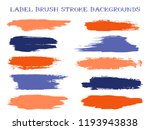 hipster label brush stroke... | Shutterstock .eps vector #1193943838