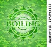 boiling realistic green emblem. ... | Shutterstock .eps vector #1193966668