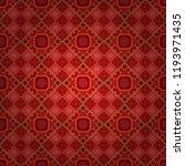 vector bright ornament of...   Shutterstock .eps vector #1193971435