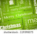green white christmas...   Shutterstock .eps vector #119398375