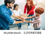 when we are together  we are... | Shutterstock . vector #1193985388