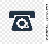 telephone vector icon isolated...