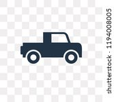 pick up vector icon isolated on ... | Shutterstock .eps vector #1194008005