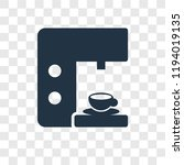 coffee maker vector icon... | Shutterstock .eps vector #1194019135