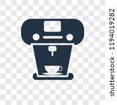 coffee maker vector icon... | Shutterstock .eps vector #1194019282