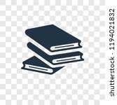 book vector icon isolated on... | Shutterstock .eps vector #1194021832