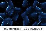 3d render abstract background... | Shutterstock . vector #1194028075