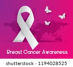 breast cancer awareness... | Shutterstock .eps vector #1194028525