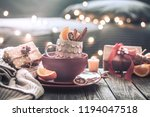 still life with home christmas... | Shutterstock . vector #1194047518
