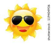 smiling sun | Shutterstock . vector #119404936