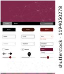 dark pink  red vector web ui...