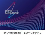 bright abstract background with ... | Shutterstock .eps vector #1194054442
