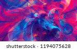 bright artistic splashes.... | Shutterstock . vector #1194075628