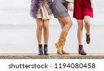 three unrecognizable... | Shutterstock . vector #1194080458