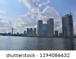 high rise tower mansions... | Shutterstock . vector #1194086632