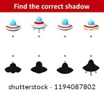 find the correct shadow... | Shutterstock .eps vector #1194087802