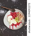 Cottage Cheese With Pomegranat...
