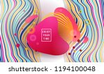 vector illustration abstract... | Shutterstock .eps vector #1194100048