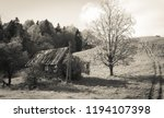 Old Abandoned Farm House Under...