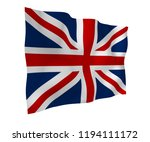 waving flag of the great... | Shutterstock . vector #1194111172