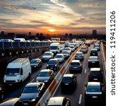 Late Afternoon Traffic. Traffi...