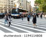 new york  usa   june 7  2018 ... | Shutterstock . vector #1194114808