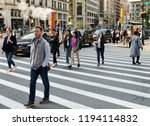 new york  usa   june 7  2018 ... | Shutterstock . vector #1194114832