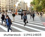 new york  usa   june 7  2018 ... | Shutterstock . vector #1194114835