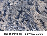 surface of pebbles and gravel... | Shutterstock . vector #1194132088
