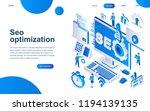 modern isometric design concept ... | Shutterstock .eps vector #1194139135